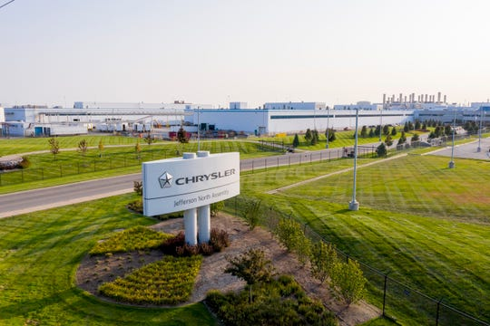 Crews are being reduced at Stellantis NV's Jefferson North Assembly plant in Detroit due to a global microchip shortage.