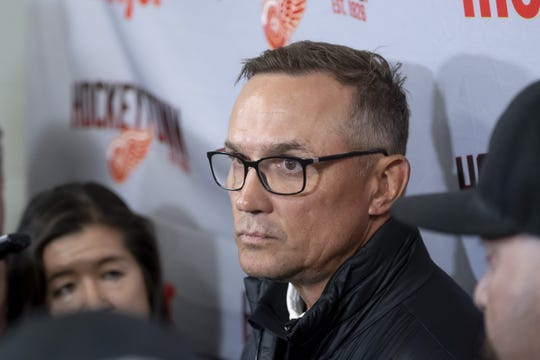 Wings GM Steve Yzerman