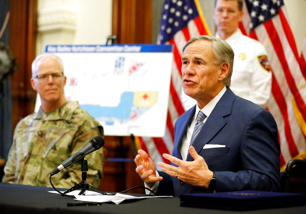 Texas crisis has governor facing big backer: energy industry 2