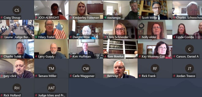 The Kiwanis Club hosted a virtual candidates forum on Thursday.