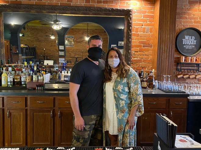 Derek and Andrea Mullins are the owners of Shovel City Drinkery, which is located at 181 N. Main Street in downtown Marion. The bar opened Sept. 23.