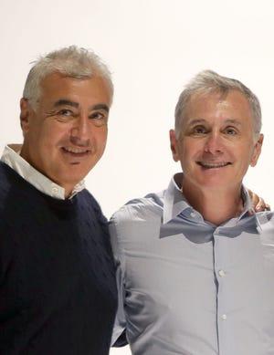 Milwaukee Bucks co-owners Marc Lasry and Jamie Dinan.