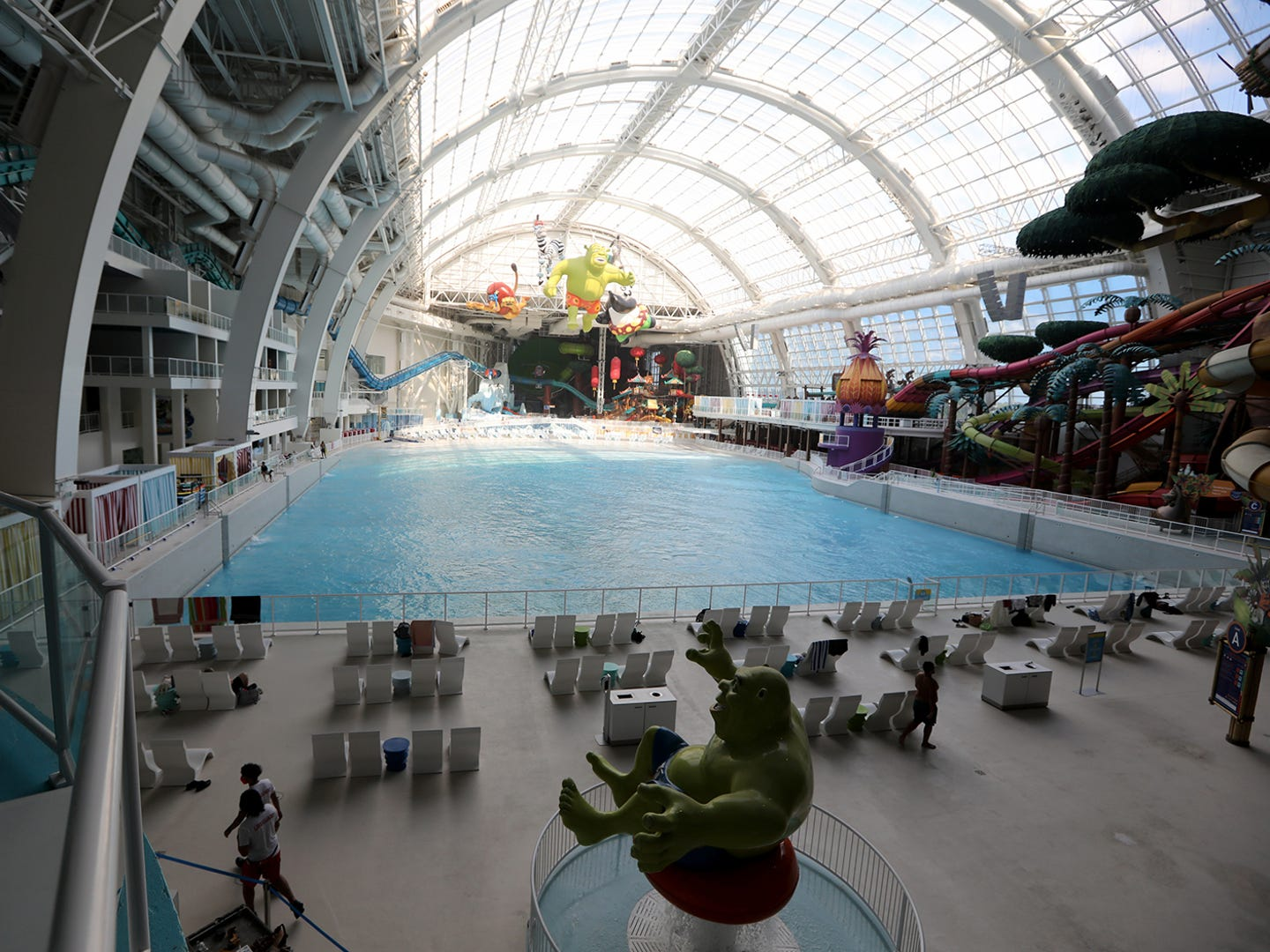 The American Dream mall is set to reopen to the public on October 1. Wednesday, September 30, 2020