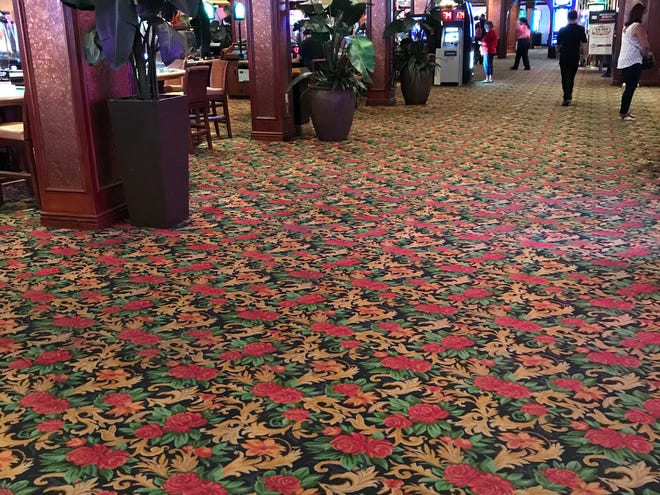 On Sept. 27, a Sunday, crews removed the beloved, gaudy and timeless casino carpeting of El Cortez. It was 13.