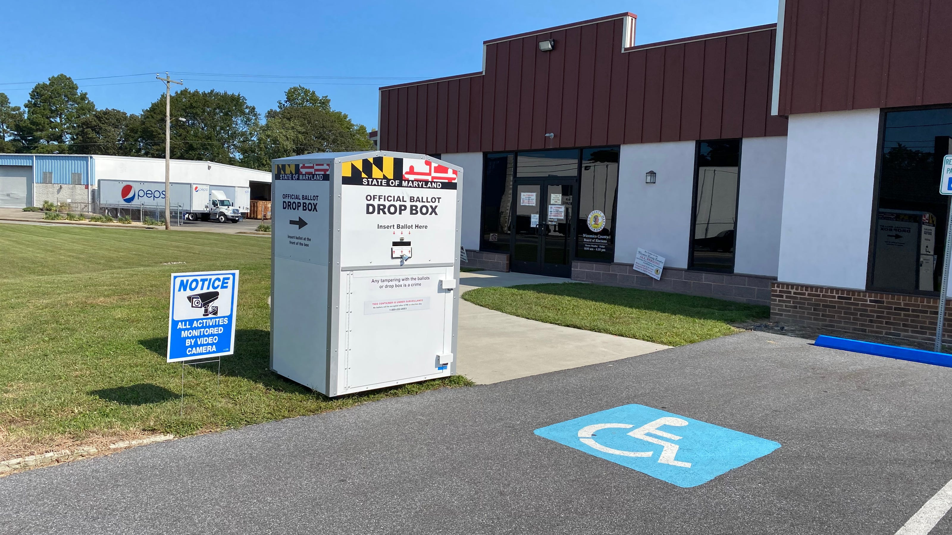 Still have your mail-in ballot? Use a drop box, Maryland ...