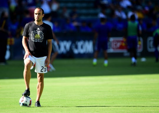 Former U.S. national team star Landon Donovan now coaches in the United Soccer League.