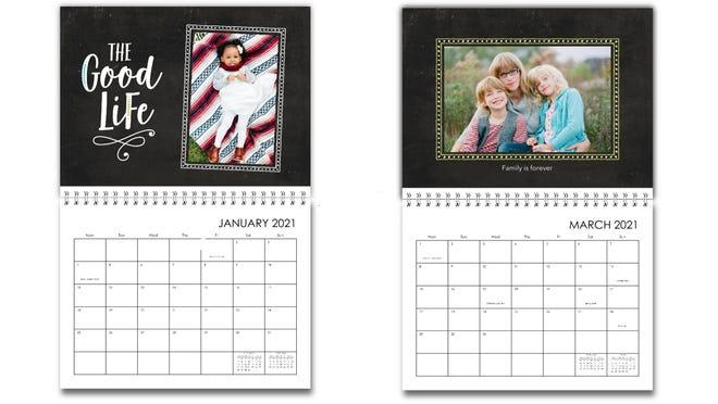 Los mejores regalos para la abuela: calendario familiar