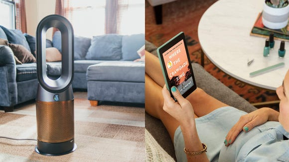 Air purifiers and tablets were popular picks in September.