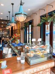 The interior of Bar Bombón.
