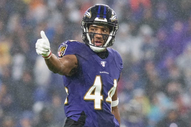 Baltimore Ravens cornerback Marlon Humphrey is now one of the highest-paid players at his position in the league.