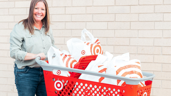 Trade the Target run for online shopping and same-day delivery.