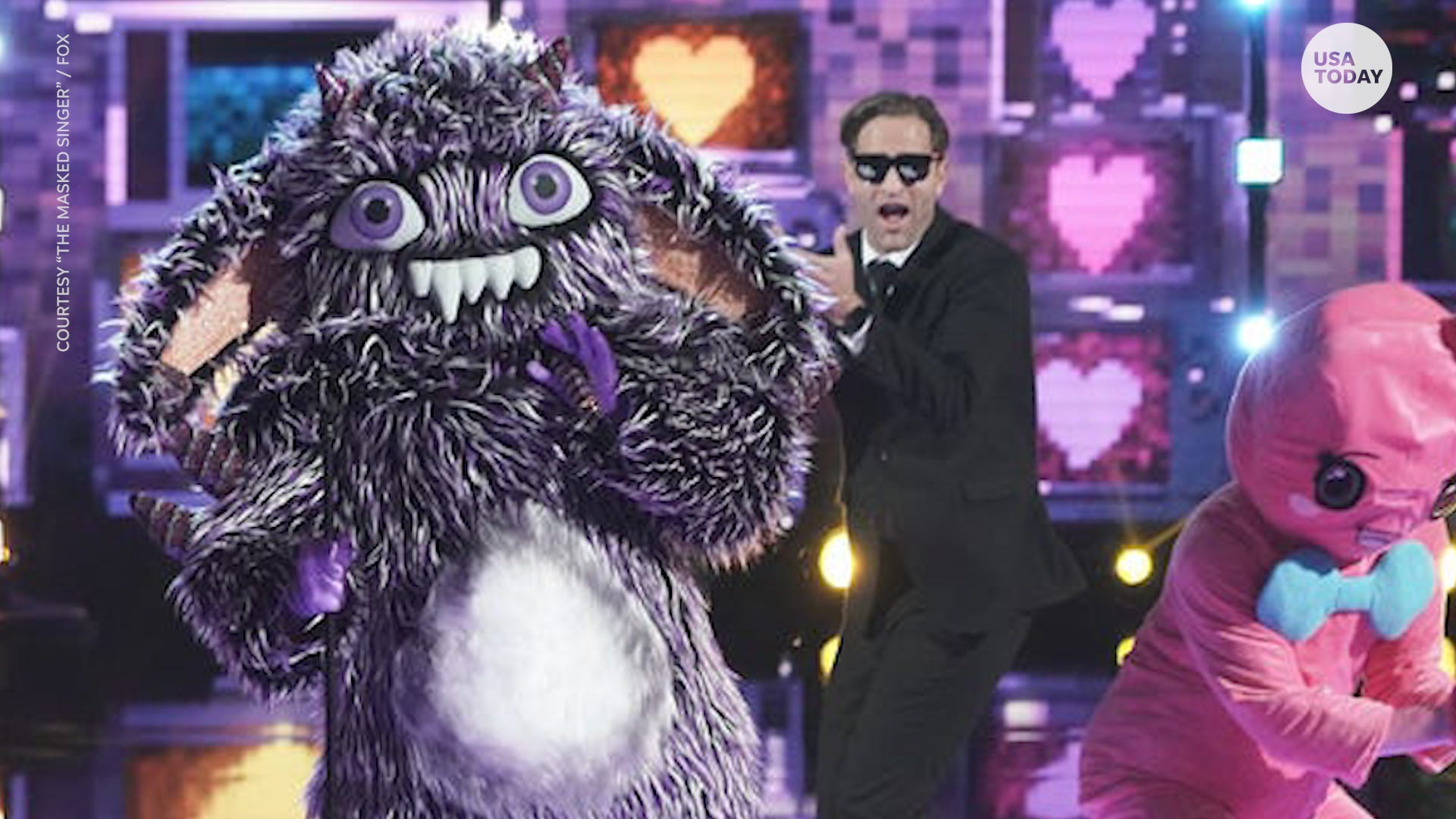 The Masked Singer Snow Owls Clint And Lisa Hartman Black Eliminated