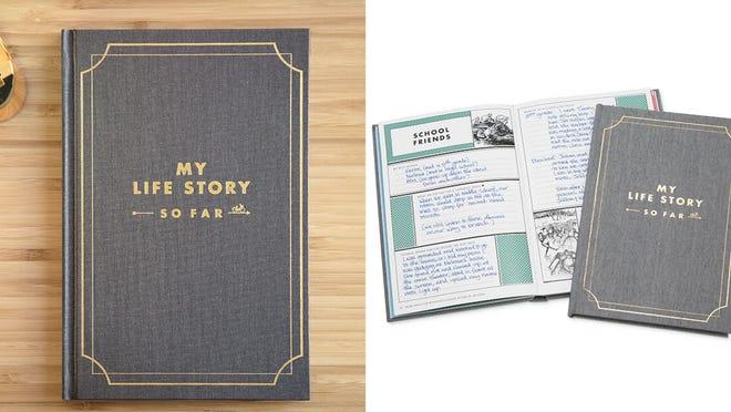 """Los mejores regalos para la abuela: diario """"My Life Story So Far"""""""