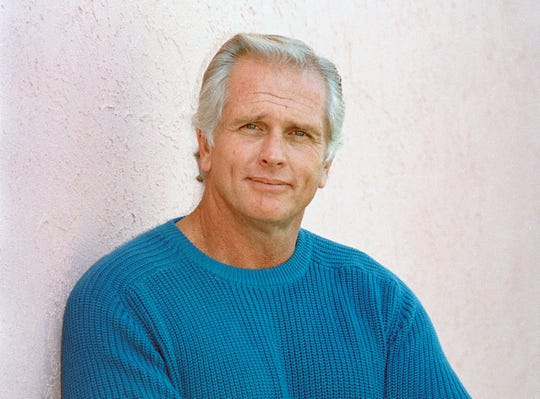 """Former """"Tarzan"""" actor Ron Ely in December 1987 during an interview in Los Angeles."""