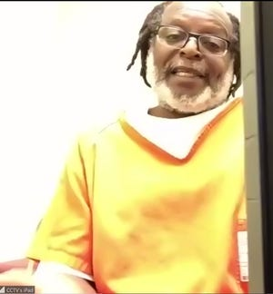 Stanley Ford during a video hearing Friday from the Summit County Jail.