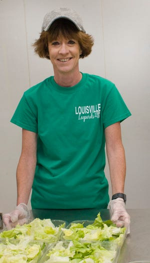 Amy Manda, a food service staffer at Louisville Middle School, is The Alliance Review's Difference Maker for October 2020.