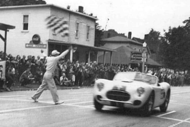 Watkins Glen street racing.