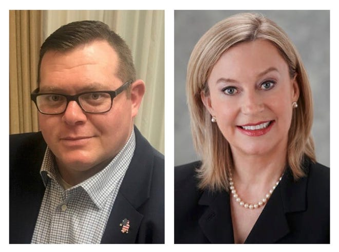 Jarrod Golden and Maryellen O'Shaughnessy are in a race for Franklin County clerk of courts position.