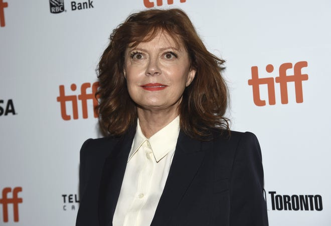 Actor Susan Sarandon: 74 today