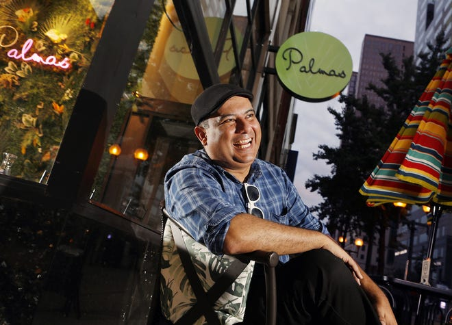 Omar D'Angelo, owner of Palmas Tropical Escape, celebrates Hispanic Heritage Month by featuring different cuisines, drinks and entertainment from different countries each weekend from Sept. 15 through Oct. 9.
