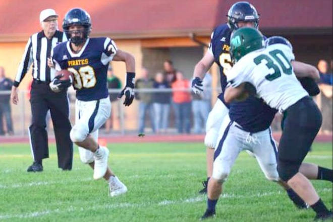 Crookston football appears well-suited for a smashmouth style of play this year, with four returning starters along the offensive and defensive line and Ethan Boll at running back.