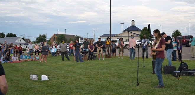Praise and worship music like the songs sung at the Neighborhood Vigil in Berlin in June will be on the venue of The Blessing to be held Saturday, Oct. 10, in Millersburg.