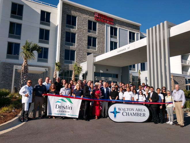On Oct. 1, the Hilton Garden Inn - Destin/Miramar Beach celebrated its grand opening with the Destin and Walton Area chambers of commerce.