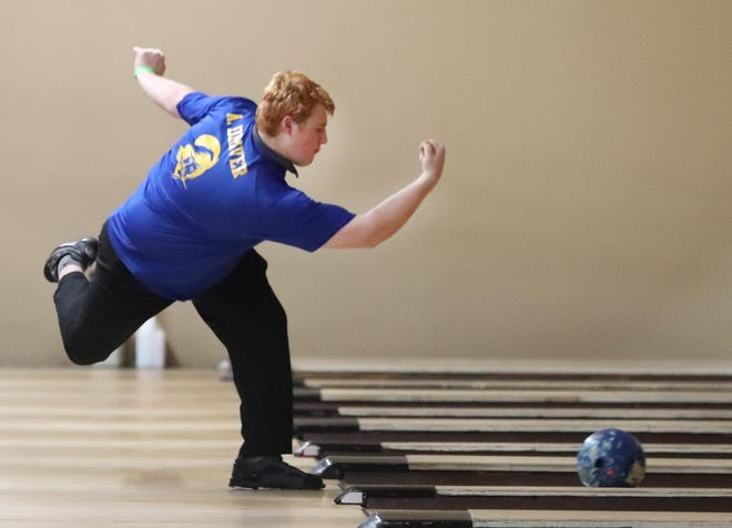 Adam Driver helped lead the Mainland's boys bowling team to a second-place team finish at the state tournament.
