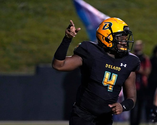 Aaron Manning ranks sixth in the Volusia-Flagler area in passing yards (329), though he has played just two games to this point.