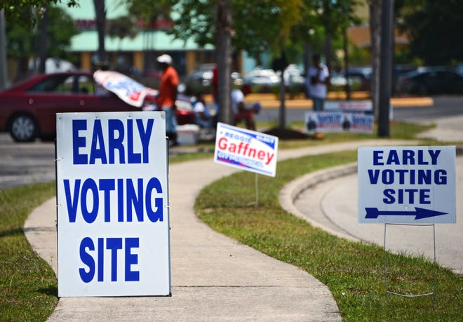 Early voting in Duval County.