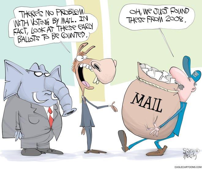 Today's editorial cartoon (Oct. 24, 2020)