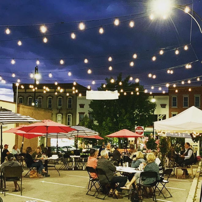 The Central on Main outdoor dining concept in Canandaigua is extended.