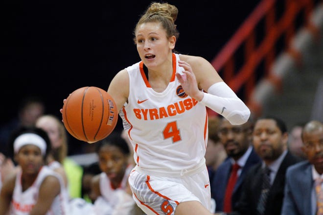Syracuse's Tiana Mangakahia was diagnosed with breast cancer in June 2019 and went through eight rounds of chemotherapy and two operations. She's been grated a waiver allowing her to return to the court this fall for the first time since March 2019.