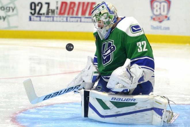 Richard Bachman finishes with 49 wins after spending most of the last five seasons with the Utica Comets. He was announced as the Iowa Wild's goaltending coach on Friday.