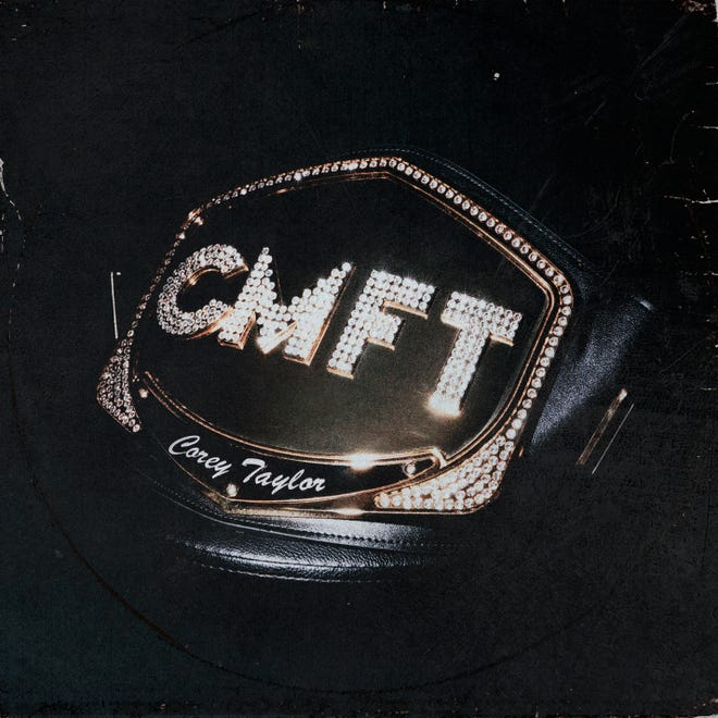 "This cover image released by Roadrunner Records shows ""CMFT"" by Corey Taylor. (Roadrunner Records via AP)"