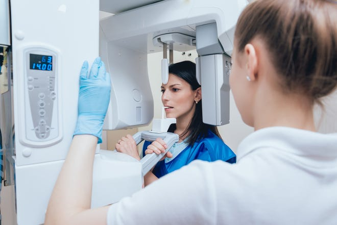 Many dentists are using digital X-rays, which use much less radiation than conventional film X-rays.