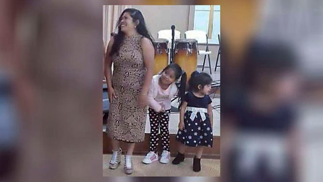 Catarina Reymundo Marcos and two of her daughters, Anai Reymundo and Jessica Guzman (right).