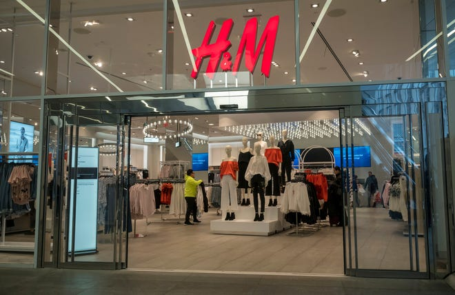 H&M, which has a store in Stockton's Weberstown Mall, is preparing to close 250 of its 5,000 stores in 2021, the company announced Thursday.