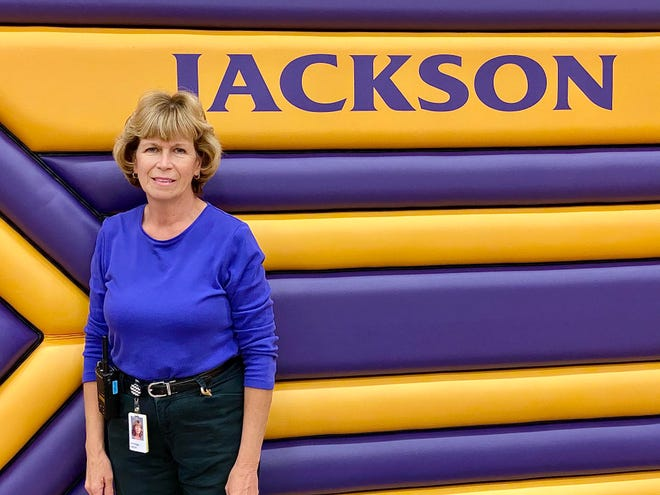 Patty Reeve, a courier with Jackson Local School District, is the Synchrony Financial Difference Maker for October 2020.
