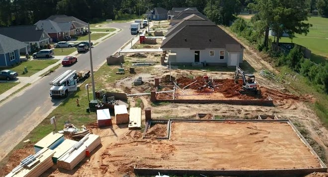 Tools were stolen twice recently at the Habitat for Humanity community in Fayetteville.