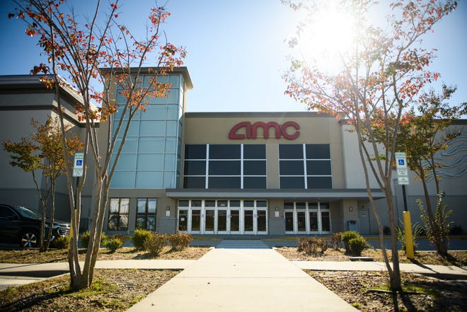 The two local AMC movie theaters, including AMC Fayetteville 14 on Lake Valley Drive, are now renting out their auditoriums for private screenings.