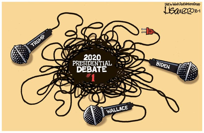 First debate a tangled mess