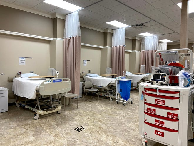 This is an area inside DCH Regional Medical Center that has been renovated to give more patient care beds in this photo supplied by the hospital.