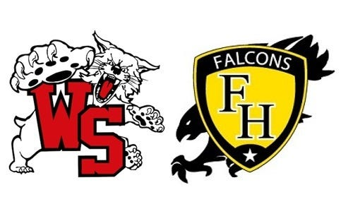 Westerville South and Franklin Heights logos