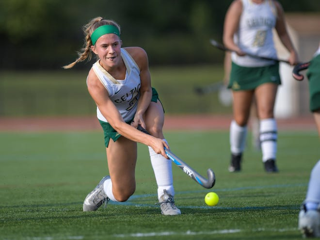 "Senior midfielder Katelyn Root has helped the Jerome field hockey team produce a record of 6-3-2 entering the week. ""We have just been improving every single game,"" coach Cara Wolfgram Evans said."