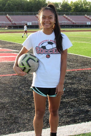 "Groveport girls soccer standout Lyla Khanthachack was tasked with being more ""selfish"" this year as she moved to forward from midfielder and took a leadership role in the offense. Khanthachack led the Cruisers in goals entering the week."