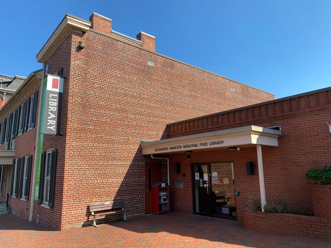 The Alexander Hamilton Memorial Free library will be operating on limited hours effective October, 1.