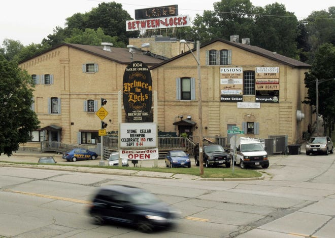Stone Arch Brewpub and its new grab-and-go shop are in the Between the Locks building in Appleton.
