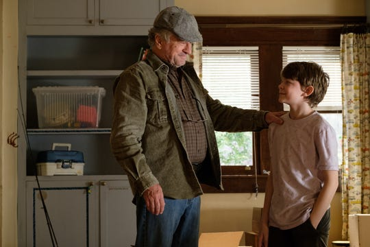"""Robert De Niro, left, and Oakes Fegley in a scene from """"The War with Grandpa."""""""