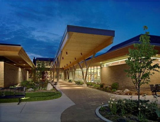 The Bloomfield Township Public Library.